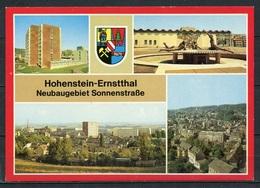 Hohenstein-Ernstthal/ Neubaugebiet Sonnenstraße/ Mehrbildkarte - N. Gel. - DDR - Bild Und Heimat  01 14 0790/11 K - Hohenstein-Ernstthal