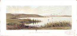 Chromos Offert Par La Maison Emile Bonzel / Haubourdin - Illustration Du Lac De Sainpoint Doubs - Coin Inférieur Droit - - Chromos