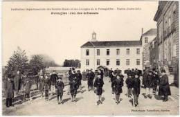 NANTES  - Institution De La Persagotière- Aveugles : Jeu Des Echasses  (63662) - Nantes