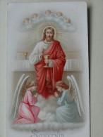 Souvenir De Premiere Communion Pensionat Du Sacre Coeur St Affrique Aveyron 1896 - Images Religieuses
