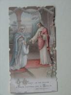 Souvenir De Premiere Communion Eglise Paroissiale  St Affrique Aveyron 1909 - Images Religieuses