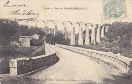 30 / ROUTE ET PONT DE CHAMBORIGAUD / PLAN PEU COURANT - Chamborigaud