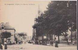 CPA 36 ARGENTON L'EGLISE ET LE QUARTIER  ST ETIENNE - France