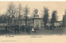 SINT NIKLAAS - LE MARCHE AU POISSON - Sint-Niklaas