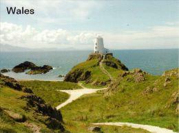 1 AK Wales ** Leuchtturm Auf Der Insel Llanddwyn ** - Anglesey