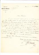 (Musique). CARAFA DI COLOBRANO (Michel), Compositeur  (Naples 1785- 1872), Auteur De Nombreux Opéras. - Lot De Deux Lett - Autogramme & Autographen
