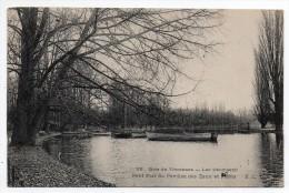 Paris - Bois De Vincennes - Lac Daumesnil - Petit Port Du Pavillon Des Eaux Et Forêts - Arrondissement: 12