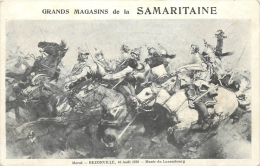 PUBLICITE   GRANDS MAGASINS DE LA SAMARITAINE TABLEAU REZONVILLE 1870 - Pubblicitari