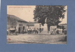 CPA  - 52 - LANEUVILLE Aux BOIS  - Statue De Jeanne D´Arc - Autres Communes