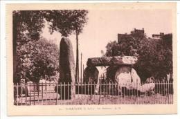 "44 - St-NAZAIRE (L.-Inf.) - Le Dolmen  - Ed. ""La Gitane"" Tabac - A. B. N° 31 Sépia - Pornic"