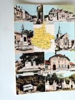 Carte Postale : BUZANCY En 8 Vues - France