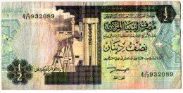 LIBYE 1/2 DINAR - Libya