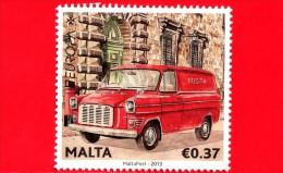 MALTA - Usato - 2013 - Europa - CEPT - Veicoli Postali - 0.37 - Malta