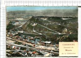 CHERBOURG   Vu D Avion  -  Panorama De La Montagne Du Roule Et De L Avenue De Paris - Cherbourg