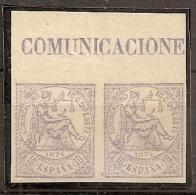 ESPAÑA 1874 - Edifil #145s Sin Goma (*) - 1873-74 Regentschaft