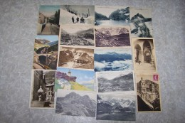 Débarras De Mes Cartes : Lot De 38 Cartes Des HAUTES ALPES (dont Briançon -La Chaussée, Ste Catherine, Le Col Bayard En - Non Classificati