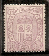 ESPAÑA 1875 - Edifil #155s - MNH ** - Unused Stamps