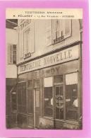 D89. AUXERRE. TEINTURERIE NOUVELLE. H. PELARDY. 14, RUE FECAUDERIE. AUXERRE.(magasin, Vitrine). - Auxerre