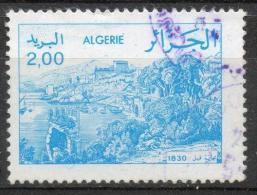 Algeria 1984 - Veduta Di Bejaia Nel 1830, View Of Bejaia In 1830 - Algérie (1962-...)