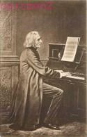 FRANZ LISZT MUSICIEN COMPOSITEUR PIANISTE HONGROIS MUSIQUE CLASSIQUE MUSIC - Cantanti E Musicisti