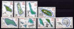 Kiribati Scott N° 422.423.436.438.439.487.488.489. Neufs **(207) - Kiribati (1979-...)