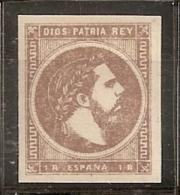 ESPAÑA 1875 - Edifil #161- MNH ** - 1875-1882 Regno: Alfonso XII