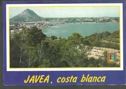 JAVEA   (ALICANTE)   VISTA GENERAL. PLAYA DEL ARENAL - S. CASANOVAS  Nº 97 - CIRCULADA - Alicante