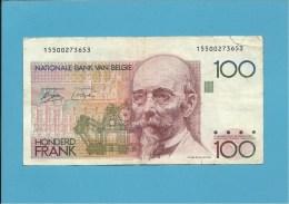 BELGIUM - 100 FRANCS - ND ( 1978 - 81 ) - P 140 - Sign. ( 3 - 9 ) Only On FACE - HENDRIK BEYAERT - BELGIE BELGIQUE - [ 2] 1831-... : Koninkrijk België