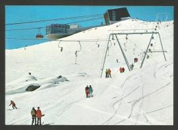 Suisse - Grisons - Flims - Skilift - Restaurant - Animée - GR Graubünden
