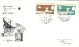(616) FDC Cover - Turks & Caicos Islands 1965 - Turks E Caicos