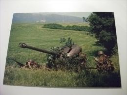 Esercito Militari Soldati Canon Antichar 9 Cm. 57 - Manovre