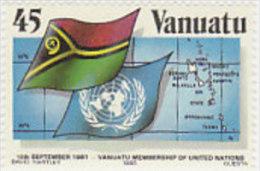 Vanuatu-1985 National Flag 405  MNH - Vanuatu (1980-...)
