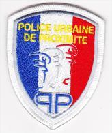Ecusson Police -- PP / PUP -- Neuf -- Obsolète -- Pour Collection - Police & Gendarmerie