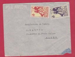 ENVELOPPE // Afrique Occidentale Française Pour Alger - A.O.F. (1934-1959)