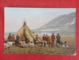 Eskimo Family Greenland  Stamp & Cancel  Ref 1152 - Greenland