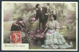 COUPLE : OFFRANDE DU COEUR  - BRIARE (LOIRET) - Couples