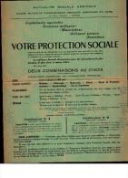 Document Commercial  Mutualité  Sociale Agricole  -  NIMES  -  Protection Sociale -  HOIRIE  Jean ANTOINE - LE BAYLE - France