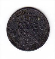 PAYS BAS KM 100 1 Ct 1877. (4JP70) - [ 3] 1815-… : Reino De Países Bajos