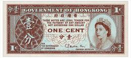 HONG KONG 1 CENT ND(1971-81) Pick 325b Unc - Hong Kong