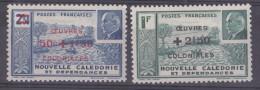 Nouvelle-Caledonie N° 246 Et 247** Neuf Sans Charniere - Nouvelle-Calédonie