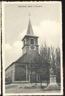 Cpa Grand Leez  église Et - Eghezée