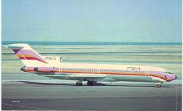Thème -  Avion - Aviationcards 57 - Pacific Southwest Airlines Boeing 727 - Format 8.5*13.5  Cm - - 1946-....: Moderne