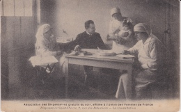 14 / 1 / 332  - Association Des Dispensaires Gratuits Du Soir Union Des Femmes De France - Santé