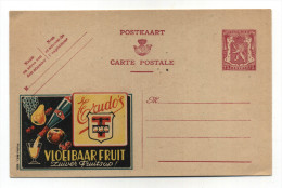 ENTIER POSTAL BELGIQUE PUBLIBEL N° 551 BOISSON FRUIT - Stamped Stationery