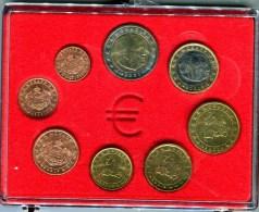 MONACO - SERIE ANNUELLE  D'EUROS 2001 EN COFFRET - Monaco