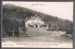 SAINT - DIE . Hôtel - Café - Restaurant De La Laiterie Saint - Martin . - Saint Die