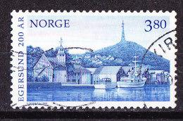 Norvegia 1998- Egersund-  Usato - Gebraucht
