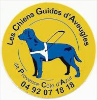 CHIENS GUIDES D´AVEUGLES - Autocollant - Collections