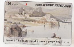Israel Old Phonecard - 120 Units - BZ 254 - The Holy Land 2000 - Tiberias - Israel