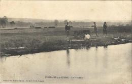 FONTAINE SUR SOMME : Les Tourbiers - Francia